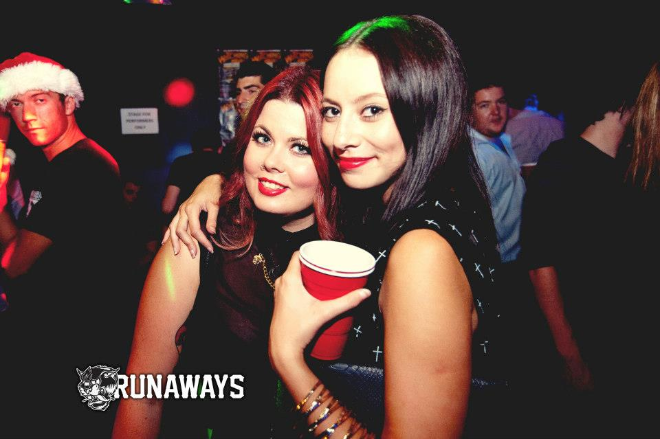 nightclub redds cups party girls