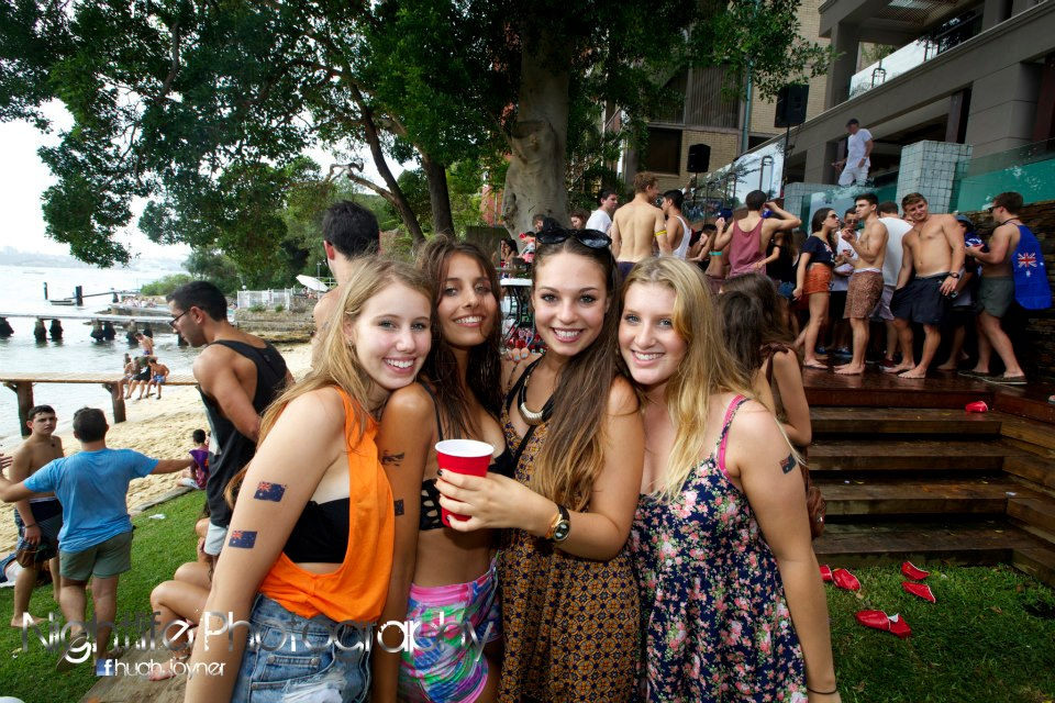 party girls red cups sydney