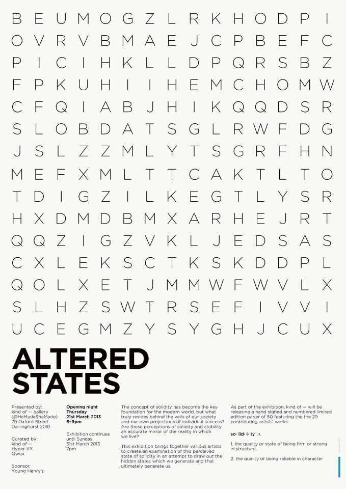Altered States - kind of Gallery