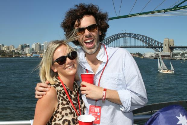 harbour bridge customised redds cups