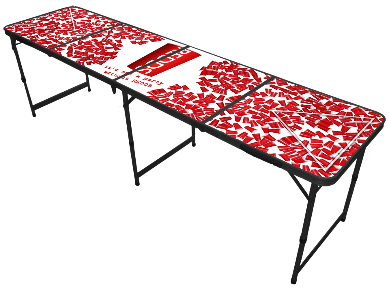 REDDS beer pong table
