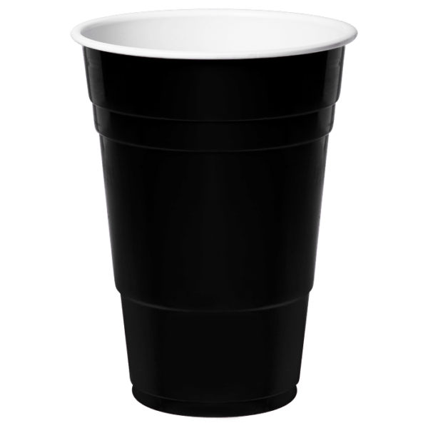 REDDS Red Cup Recoloured Black