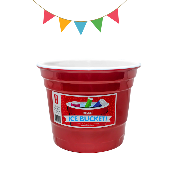 REDDS | GIFT AND PARTY IDEAS | GIANT RED CUP ICE BUCKET