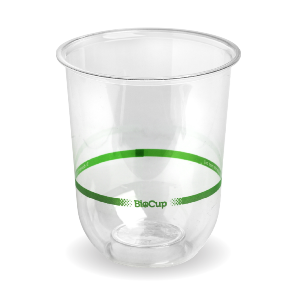 250ml Clear Tumbler BioCup Wholesale REDDS