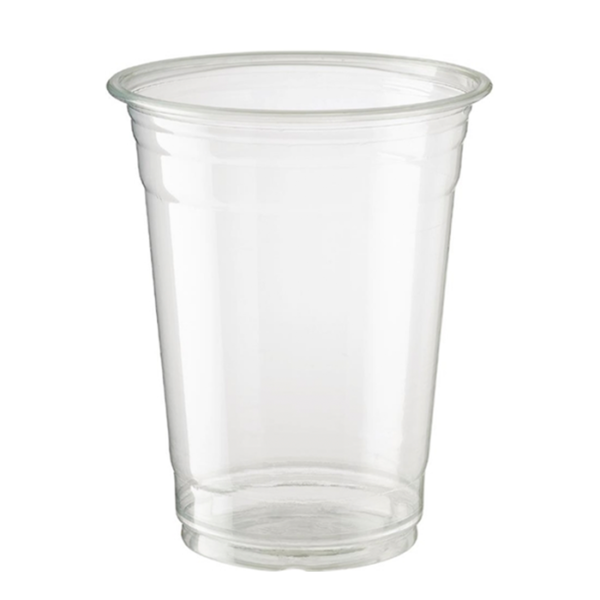 Clear 425ml PET Plastic cup